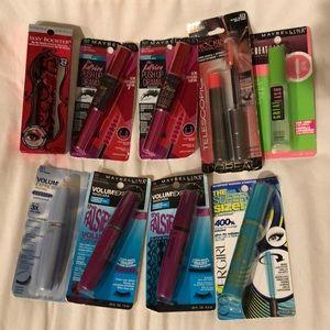 Lot of 9 new Drugstore Mascara